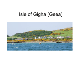 Isle of Gigha (Geea)