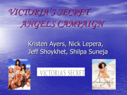 VICTORIA`S SECRET ANGELS CAMPAIGN Kristen Ayers, Nick