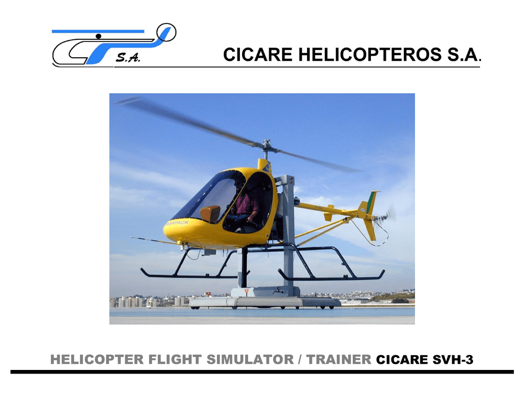 Helicopter Flight Simulator Collective With Throttle