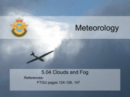 5.04 Clouds and Fog