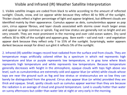 homework #02 interpreting weather satellite images