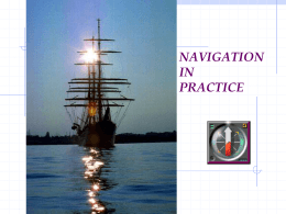 NAVIGATION IN PRACTICE