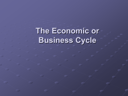 The economic Cycle - Business Studies A Level for WJEC