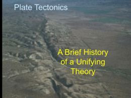 Historical Geology - Lunar and Planetary Institute