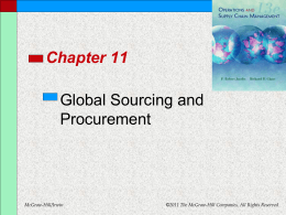 Chapter 11 - Department of Management and Information Systems