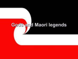 Gods and legend maori