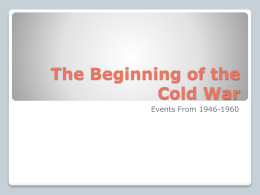 11th Cold War II