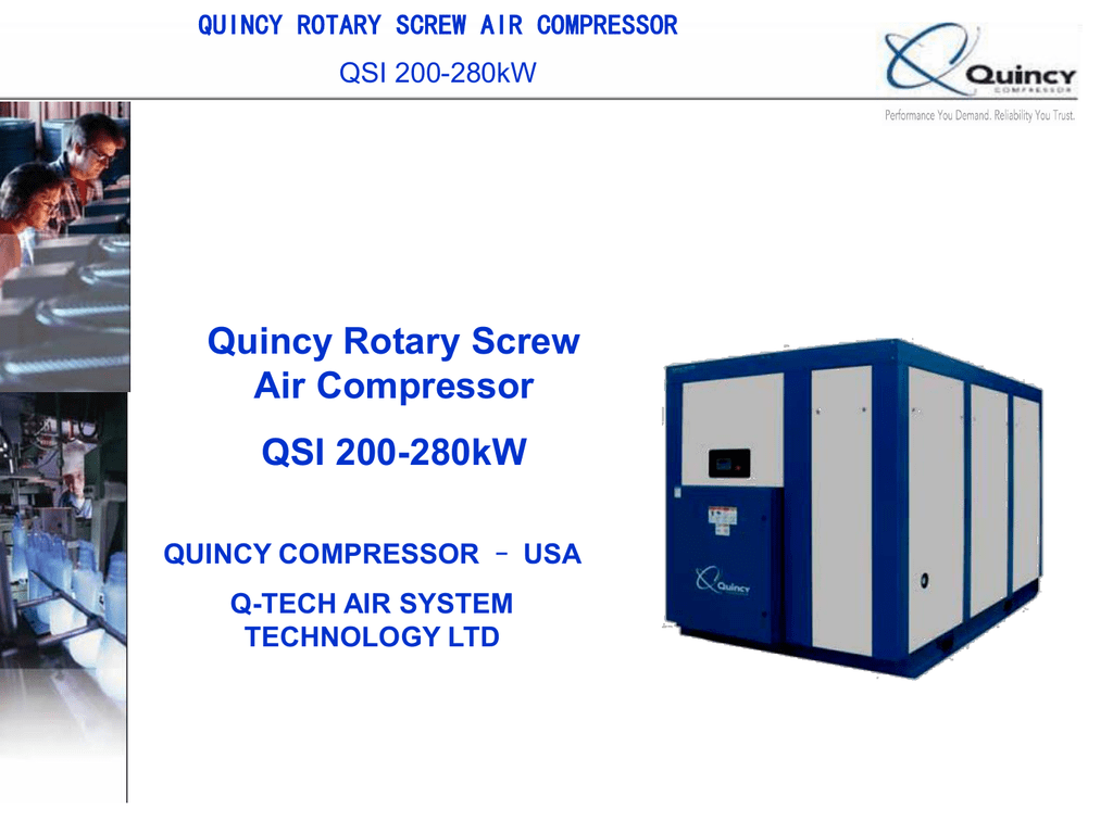 Quincy Rotary Screw Air Compressor Wiring Diagram