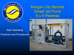 Morgan City Rentals Diesel Jet Pumps