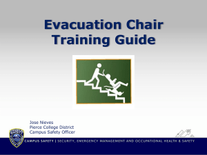 Evacuation Chair PowerPoint Presentation