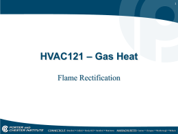 Lesson 17 - Flame Rectification-Thermocouple