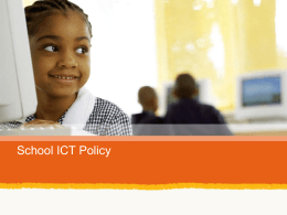 School ICT Policy