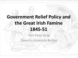 Government Responses 1845-51