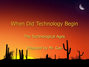 Tech Ages 2 - Jamestown School District