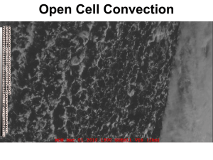 Open Cell Convection
