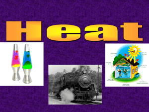 Heat POWERPOINT - Bowling Green Independent Schools