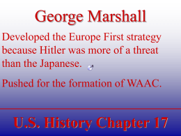 U.S. History Chapter 2