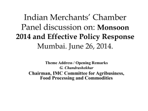 View Presentations - Indian Merchant Chamber