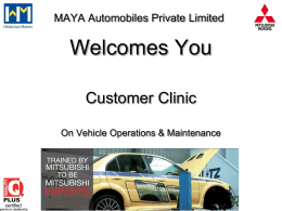 Users Manual - Maya Motors
