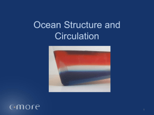 Lesson 1 – Water Stratification – NON-NARRATED - C-MORE