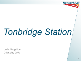 Tonbridge Station - Tonbridge Line Commuters