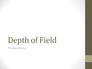 Depth of Field 2