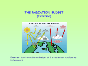 Class7 (June 15) Radiation Measurements