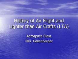 history of flight -- lighter than air (lta)