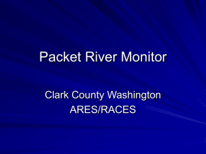 River Monitor System - Clark County Washington ARES/RACES