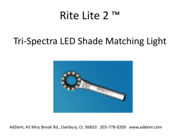 Rite Lite 2 Tri-Spectra LED Shade Matching Light