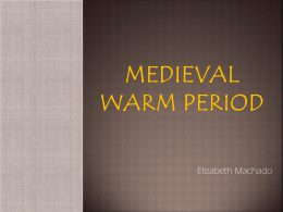 Medieval Warm Period - Natural Climate Change