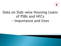 Presentaion on - National Housing Bank