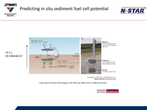 Predicting In Situ Sediment Fuel Cell Potential PowerPoint