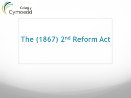 1867 Reform Act (NG)