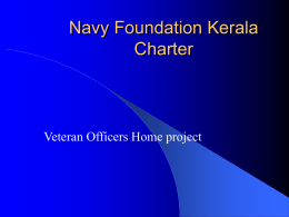 VOH - Navy Foundation Kerala Charter