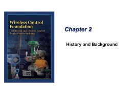 Chapter 2 History and Background