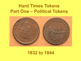 Hard Times Tokens (1832-1844) Part 1_Political
