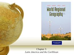 Chapter 3 - Latin America and the Caribbean
