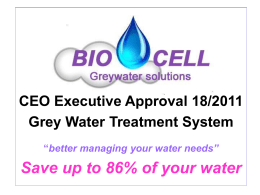 Residential Uses - BIOCELL Greywater Solutions