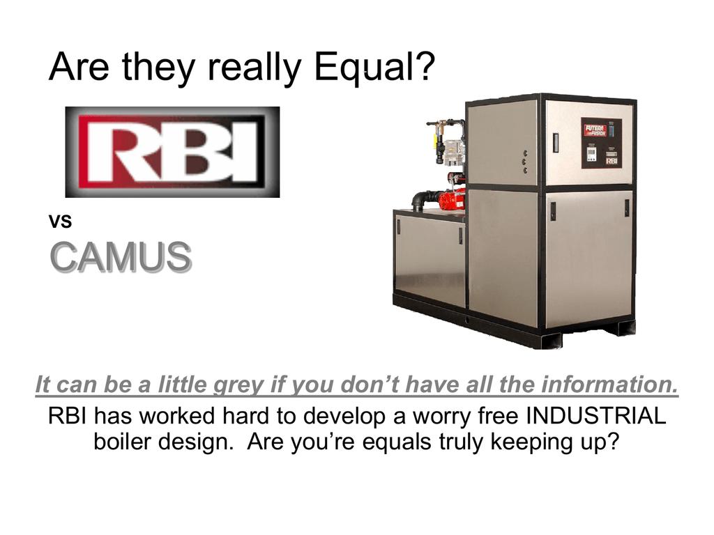 RBI FUTERA FUSION - Rbi dominator boiler wiring diagram