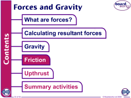 Forces and Gravity (Part 2)