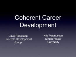Coherent Careers
