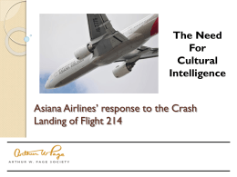 Asiana Airlines - Arthur W. Page Society