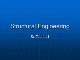 Structural Engineering Powerpoint