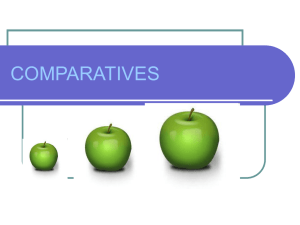 COMPARATIVES - Educastur Hospedaje Web