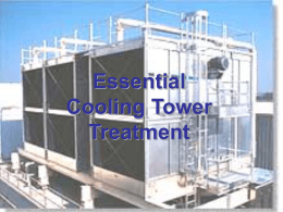 Essential Cooling Tower Treatment