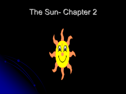 The Sun - teachyourselfastronomy.com