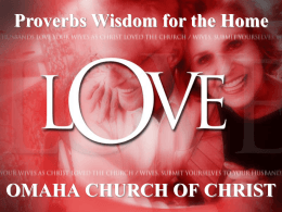 Powerpoint - Omaha Church of Christ