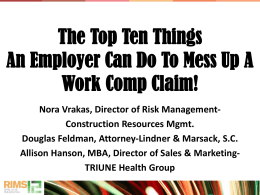 The Top 10 Things an Employer Can Do to Mess Up a Workers