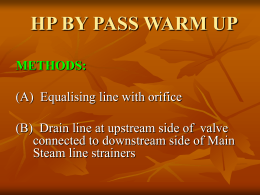hp by pass warm up methods